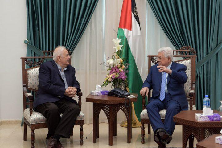 الرئيس يوجه رسالة إلى حنا ناصر حول اجراءات التحضير للانتخابات