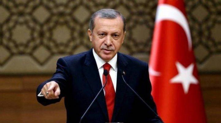 أردوغان: نرفض فرض أمر واقع جديد في القدس