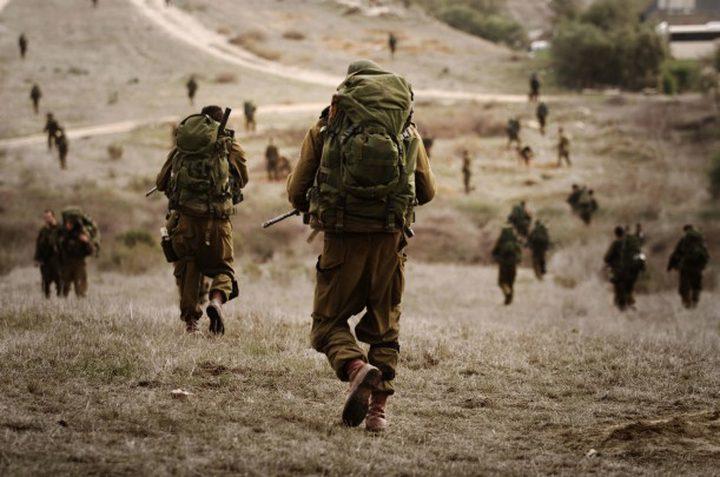 الاحتلال يطلق مناورات عسكرية واسعة غداً