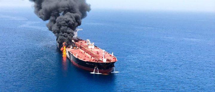 الفيديو الذي اعتبرته واشنطن دليل تورط إيران في هجوم خليج عمان