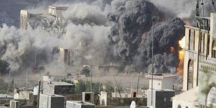 مقتل إمراة واطفالها الثلاثة في غارة جوية على حجة باليمن
