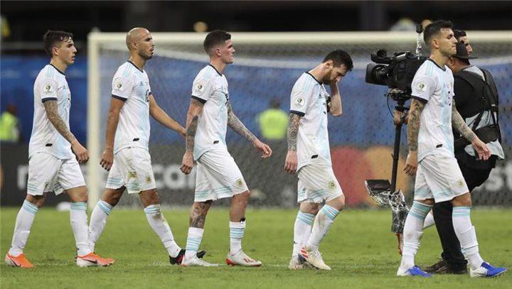 الخسارة من كولومبيا تصب في مصلحة الأرجنتين!