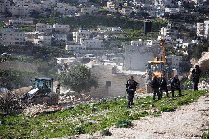 اهالي سلوان يجابهون الاحتلال وسيطرته على اراضي البلدة