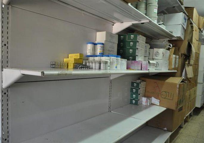 صحة غزة تحذر من تداعيات خطيرة لأزمة نقص الدواء