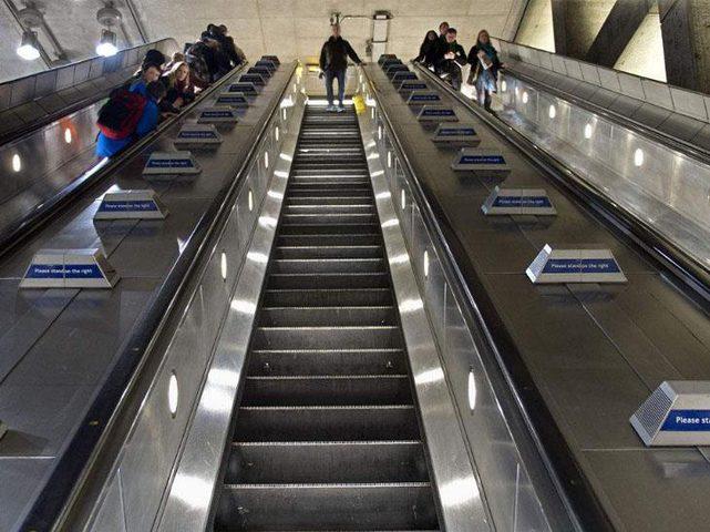 اسباب الخوف من السلالم المتحركة