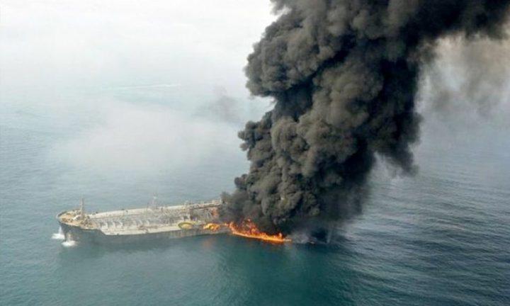 قزوين: ارتفاع حصيلة ضحايا حريق ناقلة النفط إلى 4 قتلى