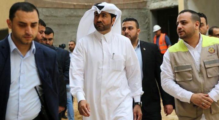 نائب السفير القطري يصل قطاع غزة عبر معبر ايرز