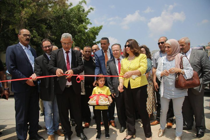 البدء بتنفيذ محطة ترحيل النفايات في مخيم نور شمس