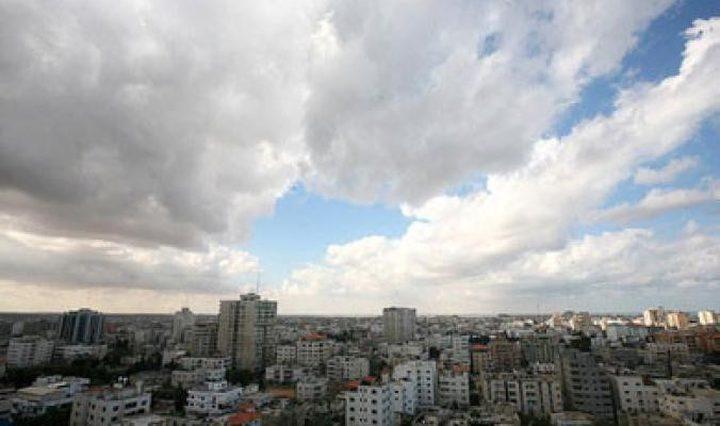 طقس فلسطين حتى الخميس نهارا وليلا