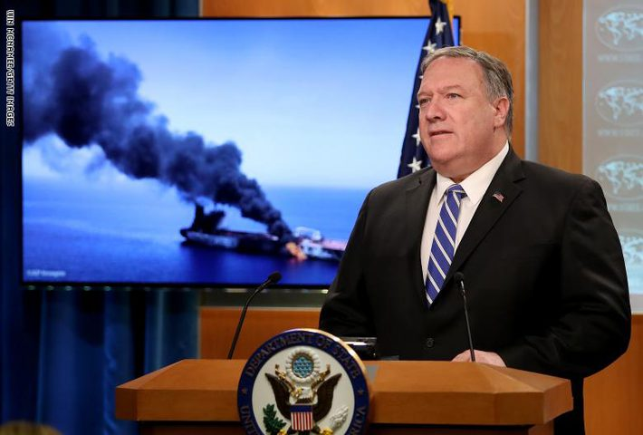 بومبيو: أمريكا لا تريد حرب مع ايران بل تريد ردع عدوانها