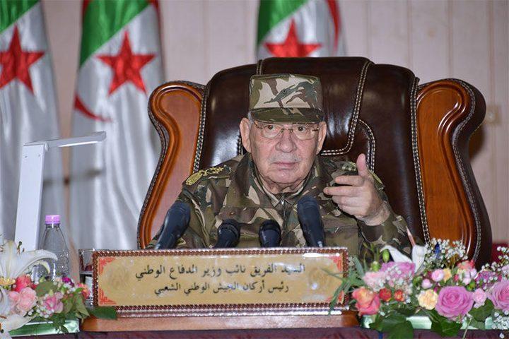 رئيس أركان الجزائر: لا نريد دخول الفراغ الدستوري