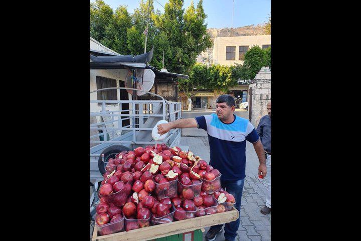إتلاف أكثر من 200 كيلو من التفاح الأمريكي في نابلس