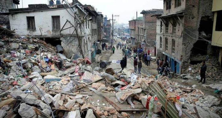 قتيلان في زلزال ضرب سيشوان الصينية