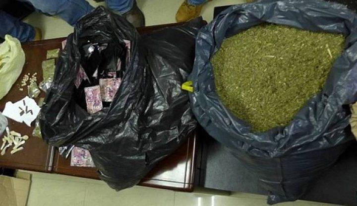ضبط مخدرات في نابلس والقبض على المشتبه بهم