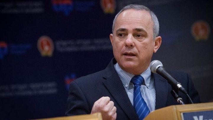 وزير اسرائيلي يكشف عن قرب التوصل لاتفاق تهدئة مع قطاع غزة