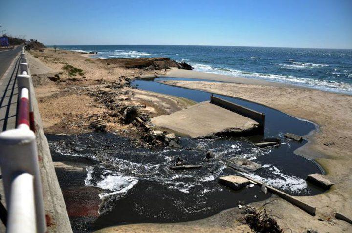 مشروع إسرائيلي لحل أزمة الصرف الصحي بغزة