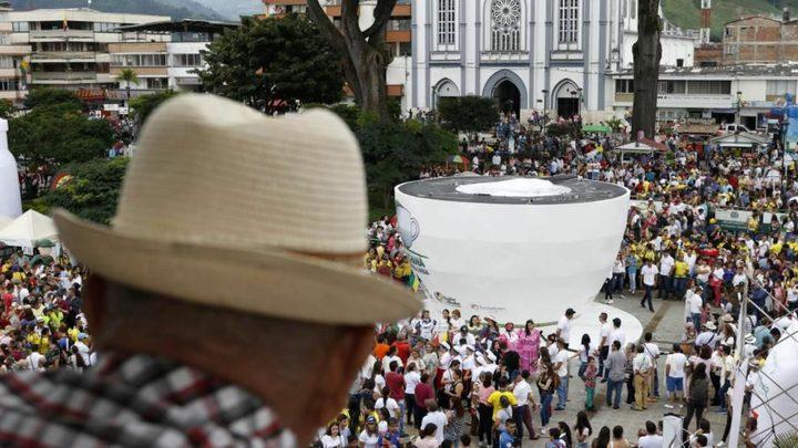 """كولومبيا تدخل """"غينيس"""" بأضخم كوب قهوة في العالم"""