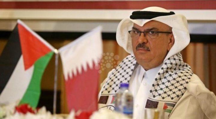 العمادي يستقبل مدير عمليات وكالة الغوث في مكتبه بغزة