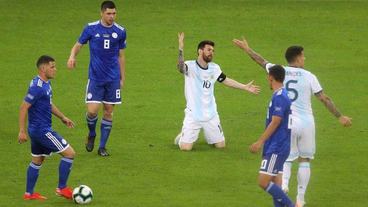 الأرجنتين تنتزع تعادلًا صعبًا مع منتخب باراغواي