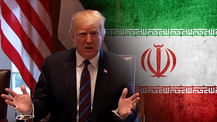 """ترامب: ايران ارتكبت """"خطأ فادح"""" عندما اسقطت الطائرة الامريكية"""