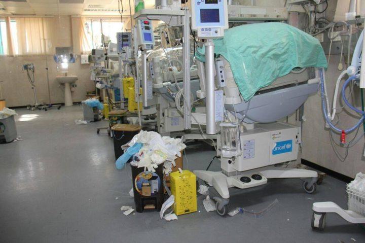 شركات التنظيف في المستشفيات الحكومية بالضفة تعلن الإضراب