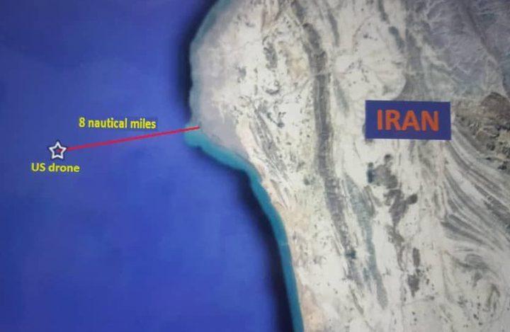 أدلة تؤكد سقوط الطائرة الامريكية داخل الاجواء الايرانية