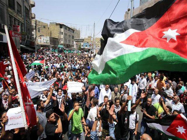"""مسيرة في عمان رفضا لـ""""صفقة القرن"""""""