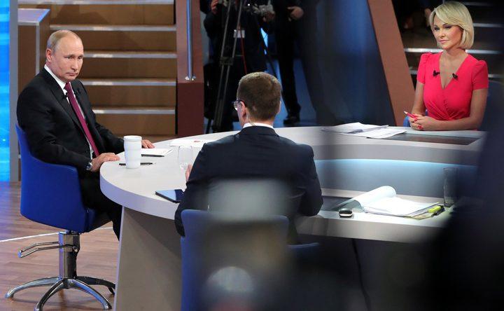 بوتين: زيادة دخل المواطن أولوية عمل الحكومة