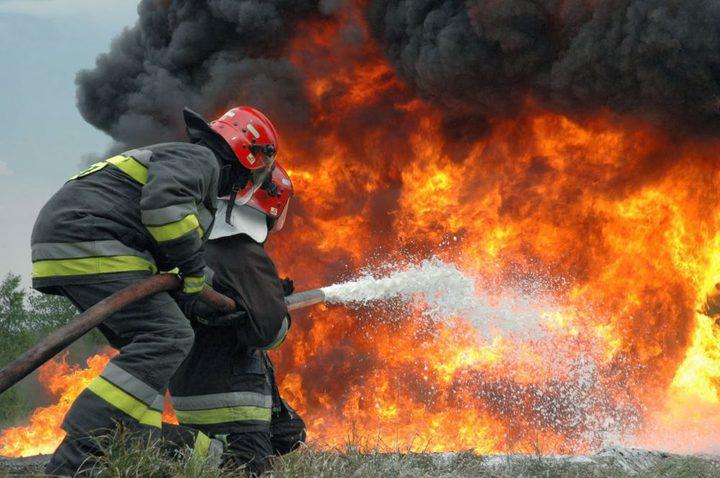 """""""حصاد الحرائق وحوادث السير"""" خلال 24 ساعة"""