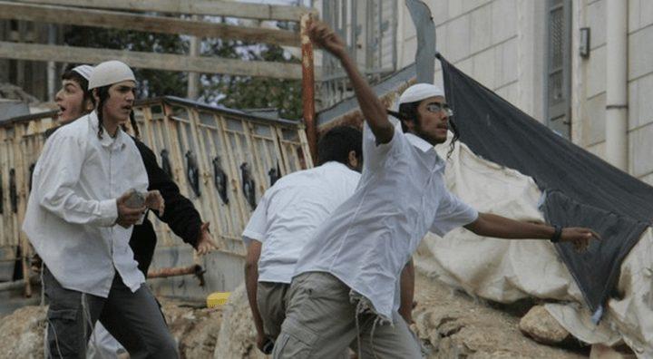 إصابة مواطن جراء اعتداء المستوطنين عليه جنوب الخليل