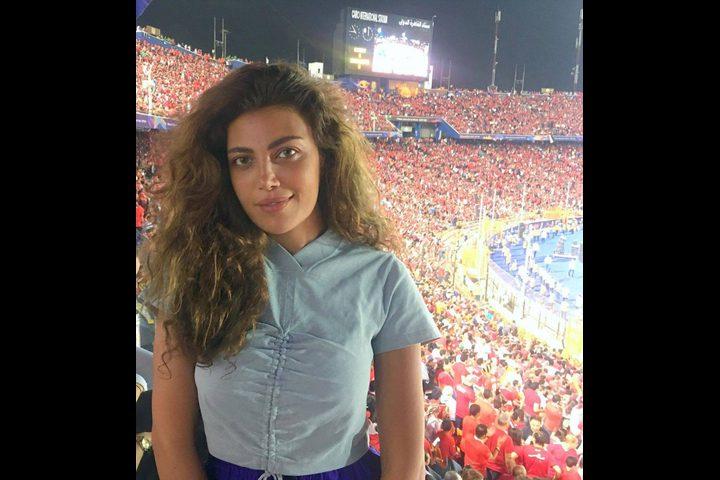 مباراة كرة قدم تكشف حقيقة طلاق ريهام حجاج