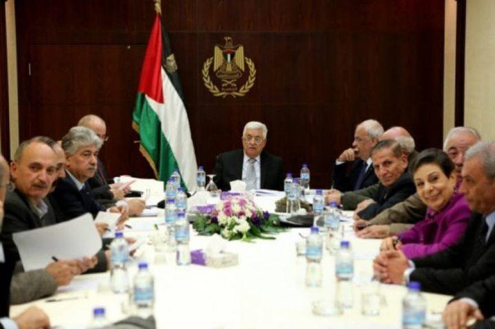 التنفيذية ترحب بالجهود المصرية لاستئناف ملف المصالحة