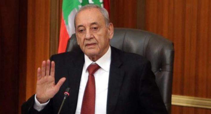 """بري: لانقبل بأي تسوية على حساب الفلسطينيين ونرفض""""صفقة القرن"""""""