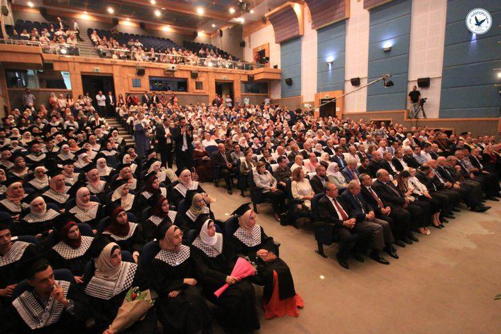 جامعة النجاح تطلق احتفالاتها الرسمية بتخريج الفوج الـ39