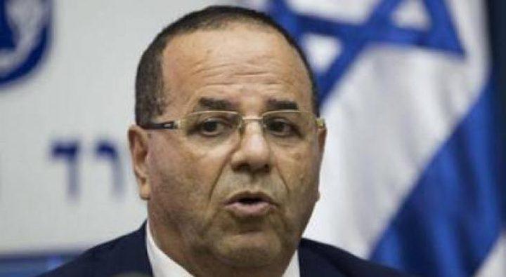 """قرا يستقيل من الحكومة الاسرائيلية هجمة سياسية من """"الليكود"""""""