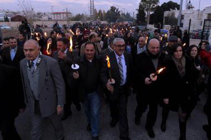 وقفة في بيت ساحور رفضا لصفقة القرن وورشة البحرين