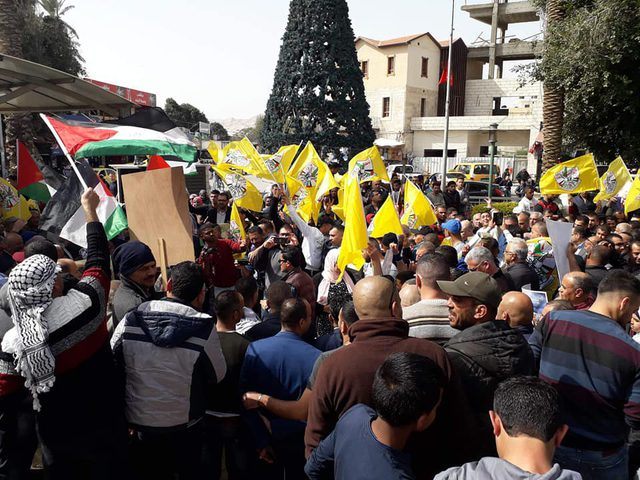 أهالي وقوى أريحا والأغوار يؤكدون رفضهم المطلق لورشة البحرين