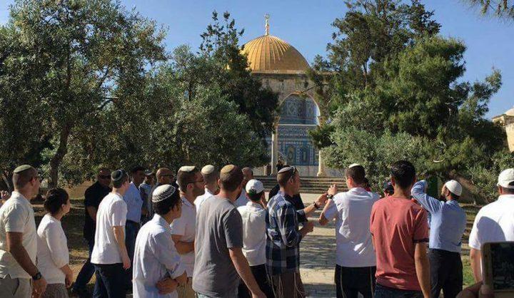 اقتحامات للمسجد الأقصى ينفذها مستوطنون