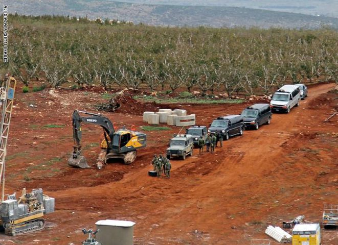 الاحتلال يجدد حفرياته على الحدود اللبنانية