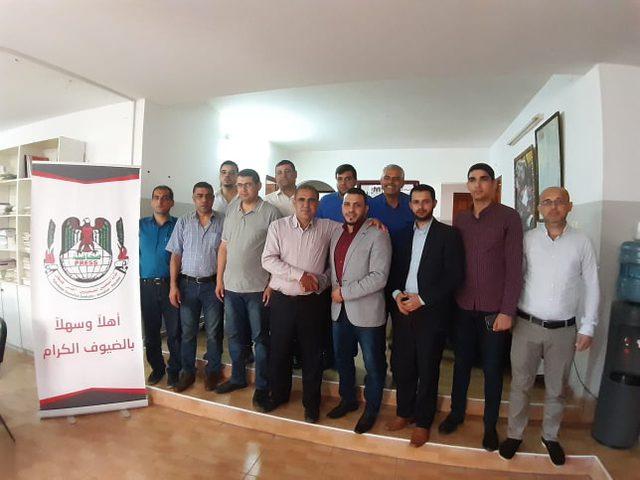 """""""الإعلامي الفلسطيني""""و"""" الصحفي الديمقراطي"""" يهنئان نقابة الصحفيين"""