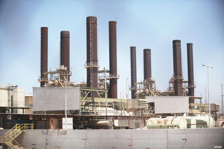كهرباء غزة: وقف توريد الوقود سيؤثر على جدول التوزيع
