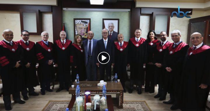 مجلس الأمناء يشيد بإنجازات جامعة النجاح والمستشفى الجامعي