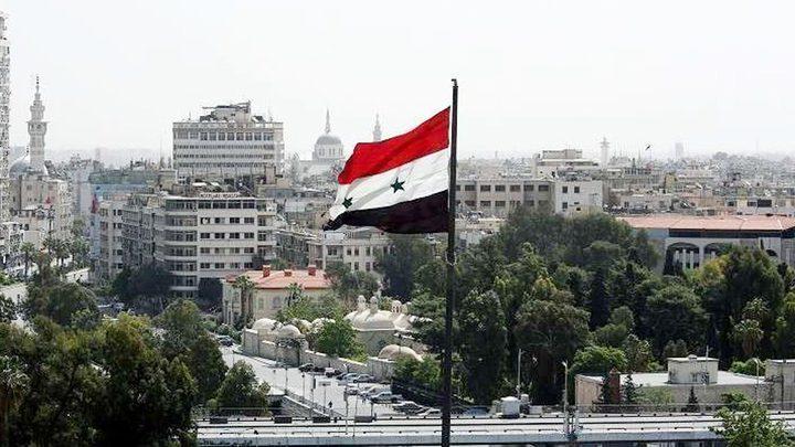 سوريا تدين قرار فرض عقوبات أمريكية على القيادة الإيرانية