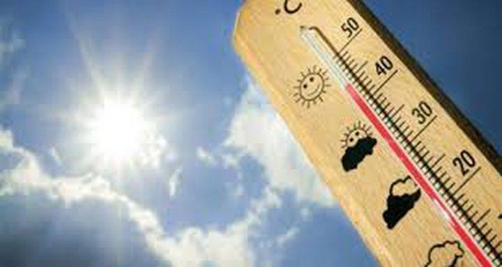 أجواء حارة الى شديدة الحرارة