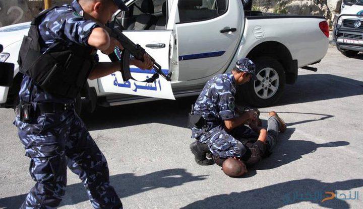 الشرطة تقبض على شخصين بحوزتهما مواد مخدرة في جنين
