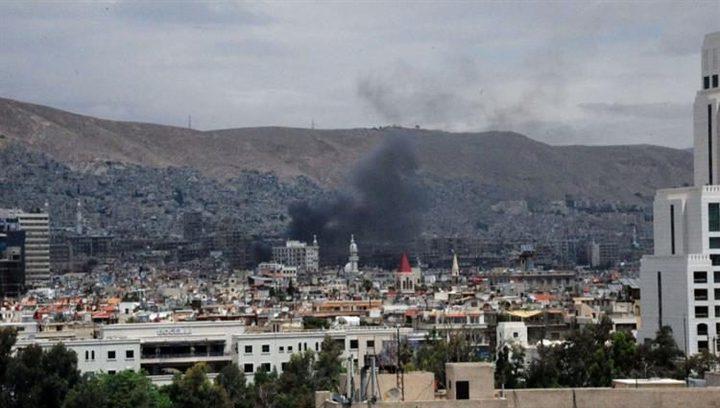 سوريا :تفجير إرهابي وسط العاصمة دمشق