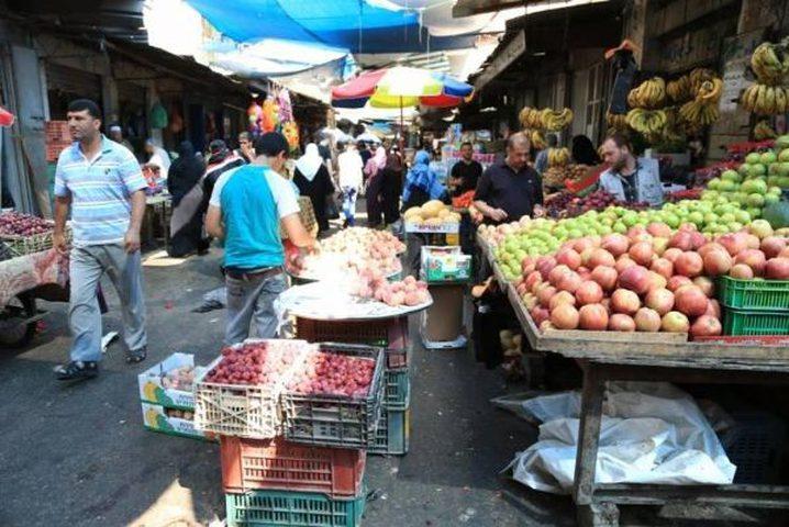 الإحصاء الفلسطيني: انخفاض في أسعار المنتج خلال شهر الماضي