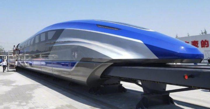 قطار صيني أسرع من الطائرة