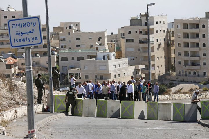 إضراب شامل يعم بلدة العيسوية بالقدس المحتلة