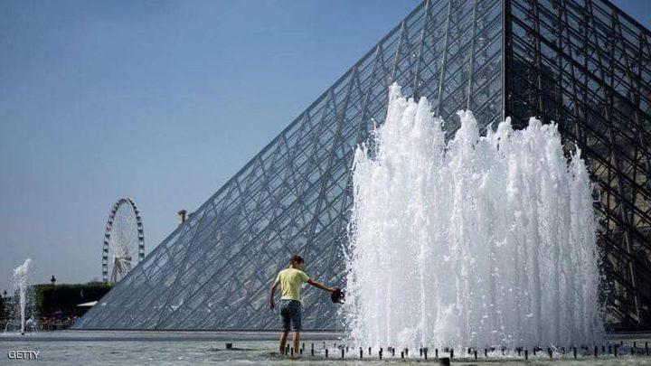فرنسا تسجل أعلى درجة حرارة على الإطلاق
